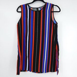 Vince Camuto Women's XS Striped Sleeveless Career